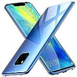 Peakally Huawei Mate 20 Pro Hülle, Soft Silikon Dünn Transparent Hüllen [Kratzfest] [Anti Slip] Durchsichtige TPU Schutzhülle Case Weiche Handyhülle für Huawei Mate 20 Pro -Klar