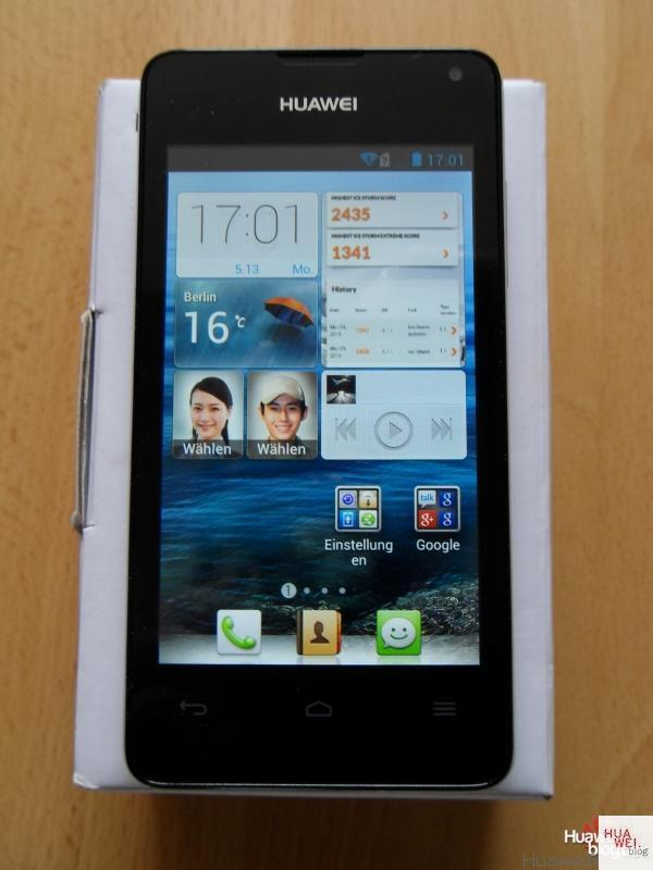 Huawei Ascend Y300 – Test, Review, Erfahrungsbericht