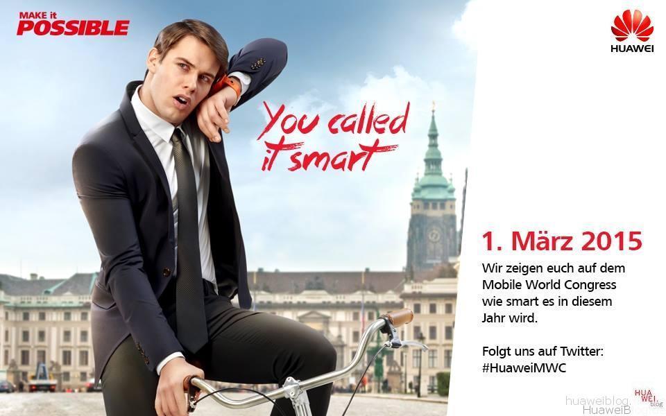Pressekonferenz - Live Ticker - Huawei - MWC 2015 - deutsch - 01. März 2015