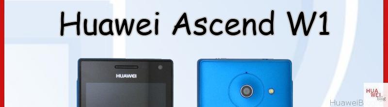 Ascend W1