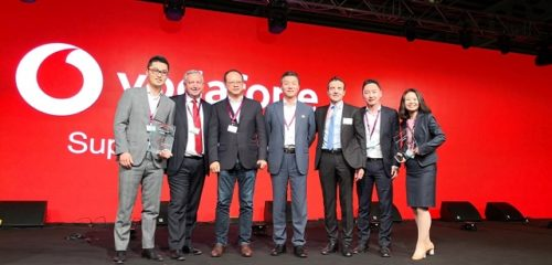 Pressefoto Huawei & Vodafone