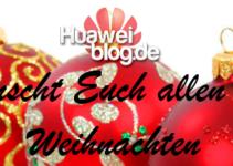 Weihnachtsgruß Huaweiblog