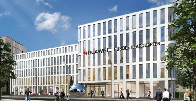 Render Huawei Headquater Europe