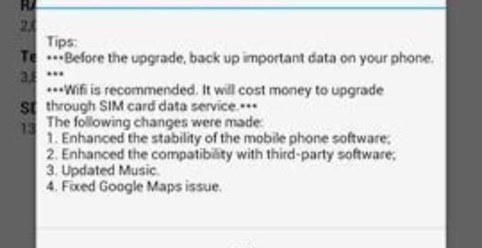 Huawei Ascend Mate – OTA Firmwareupdate B221 [Leak]