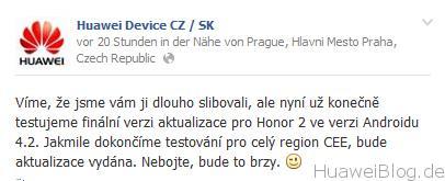 Huawei Device CZ/SK G615 Update
