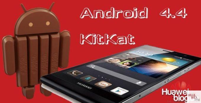 Android 4.4 Kitkat - Huawei P6