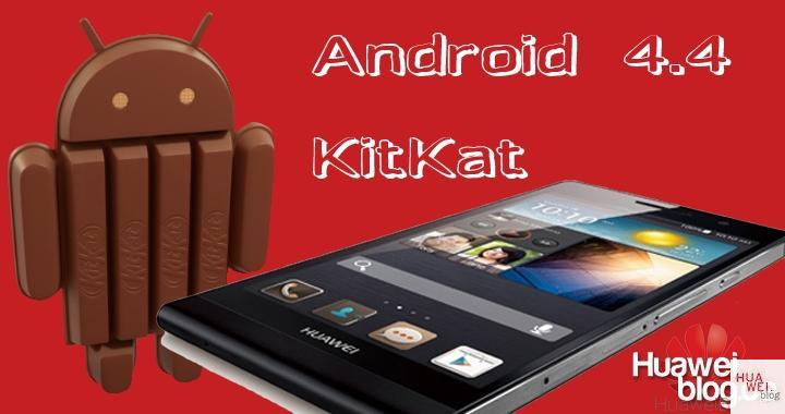 Huawei Ascend P6 Android 4.4 Kitkat