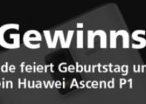 Huawei Ascend P1 – Gewinnspiel
