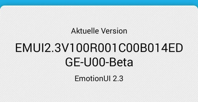 Huawei Ascend P6 - Firmware Leak Android 4.4.2 KitKat