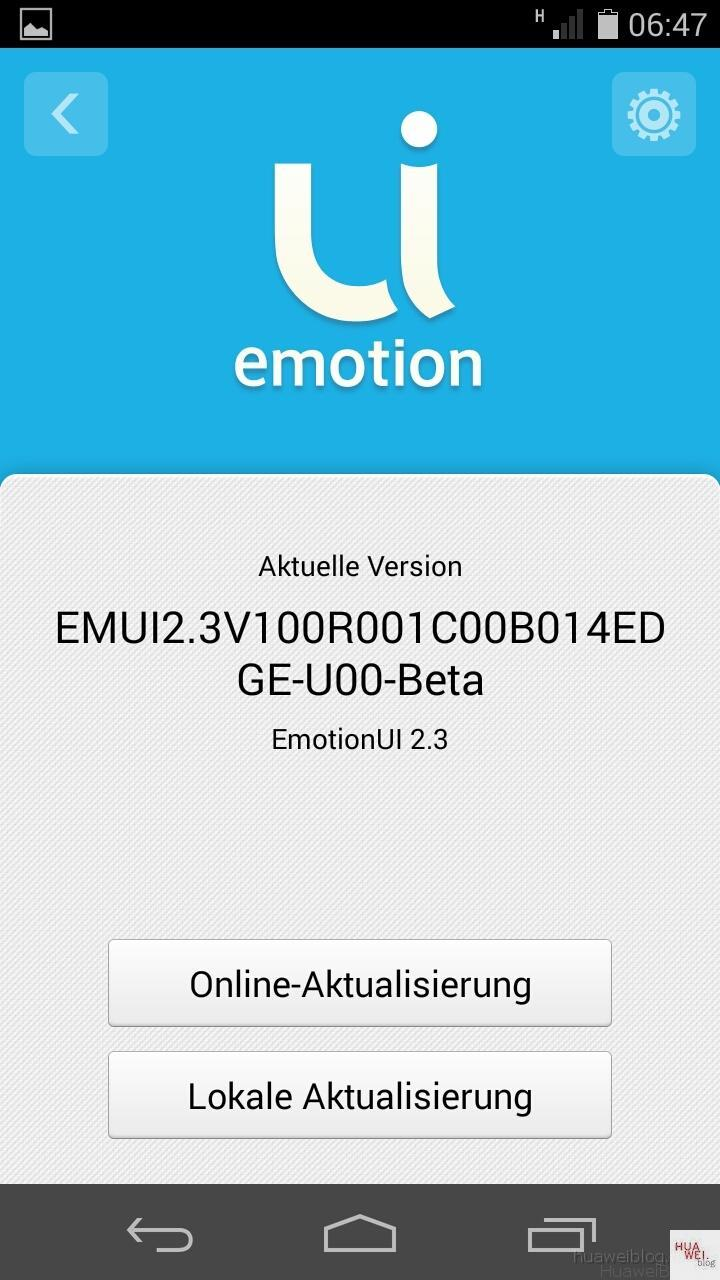 Huawei Ascend P6 Android 4.4.2 KitKat