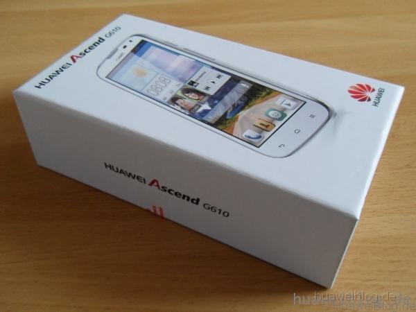 Huawei Ascend G610 – Test / Erfahrungsbericht 1