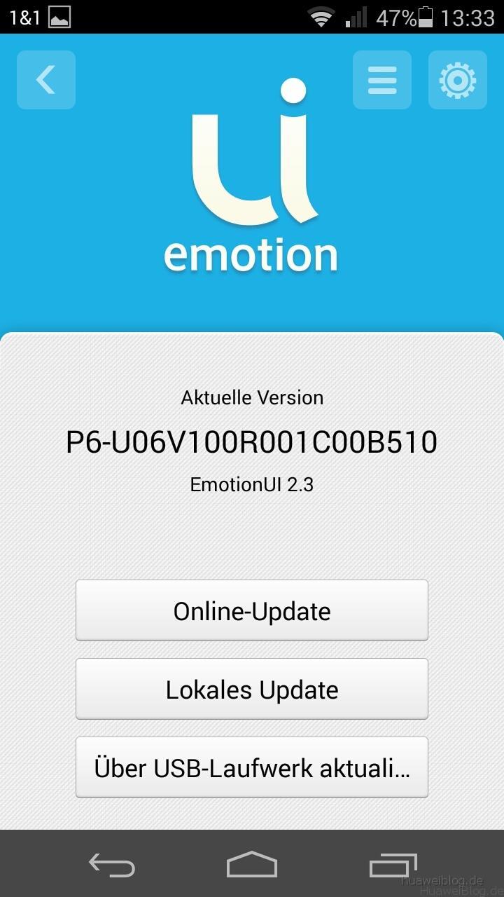Huawei Ascend P6 - KitKat 063