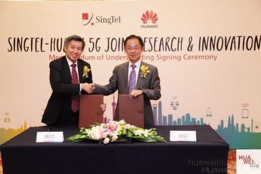 Huawei und SingTel gehen Innovationspartnerschaft ein