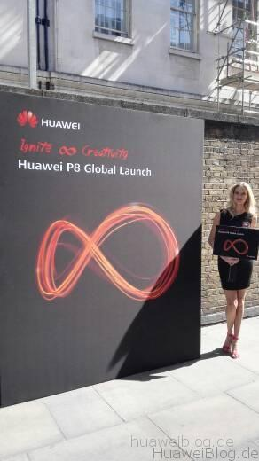 Huawei P8 Event London 2015