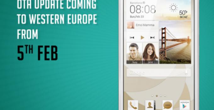 EMUI 3.0 Update B370 mit Android 4.4.2 für das G6-L11 / P7mini wird verteilt