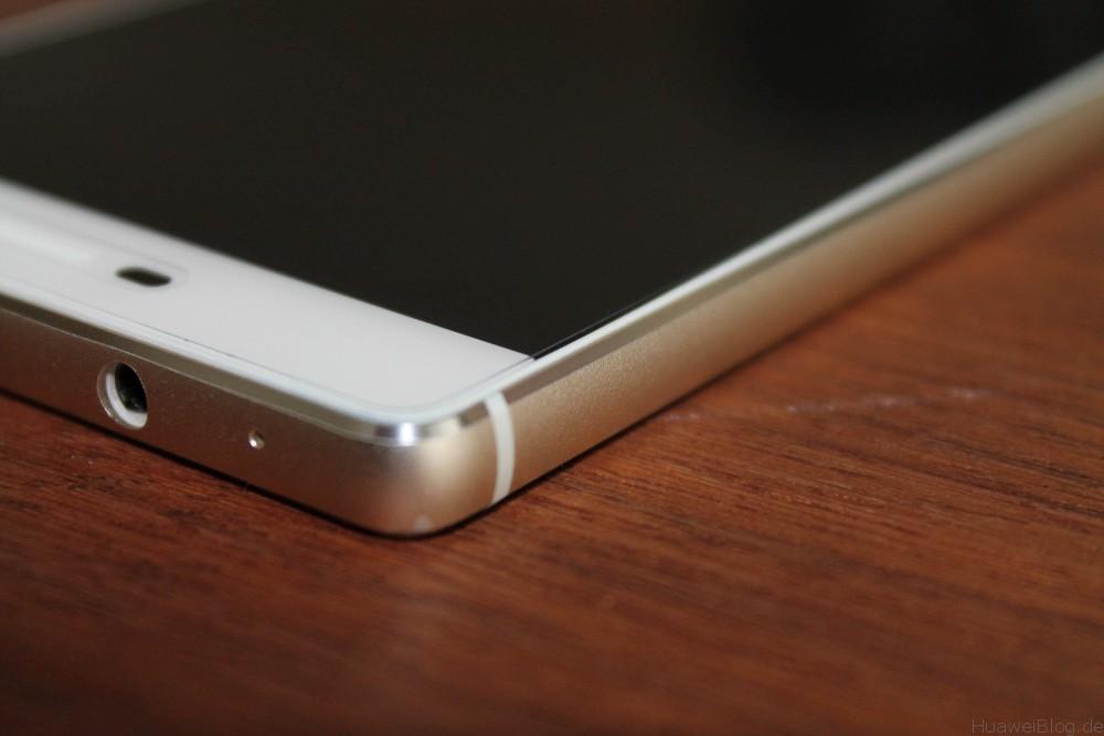 Huawei P8 - Kopfhörer Anschluss - Design