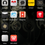 Huawei P8 - Homescreen