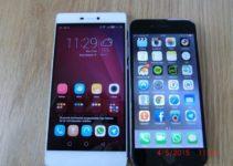 Huawei P8 vs. iPhone 6 – Ein Vergleich