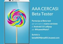 Mate 7 Lollipop Beta Test