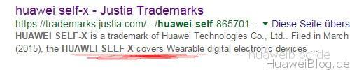 Huawei Self X