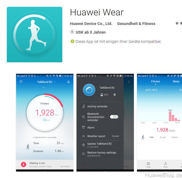 Huawei-Wear-App