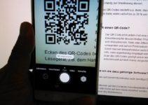 QR Code mit der Kamera scannen
