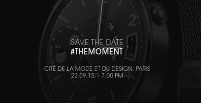 Huawei Watch – Save the Date – 22. September in Paris