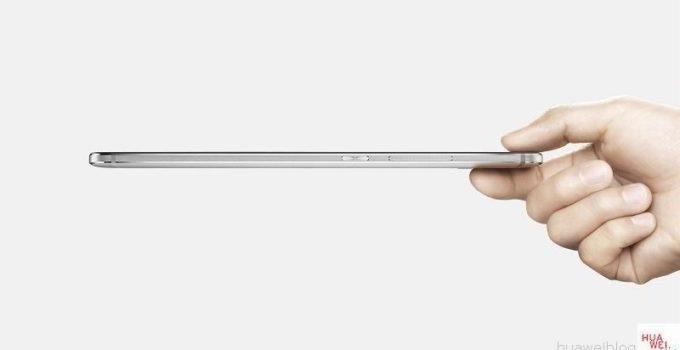 Huawei Mate S Seitenansicht