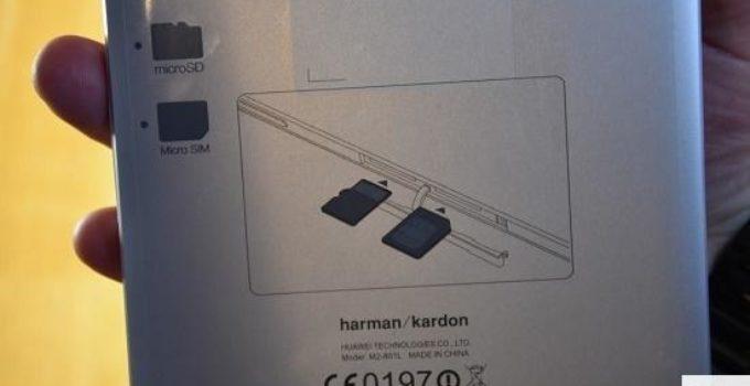 Huawei MediaPad M2 8.0 Harman Kardon