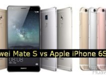 Huawei Mate S vs. iPhone 6S Plus