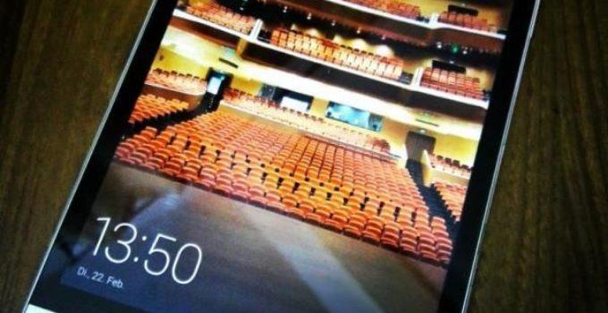 Huawei MediaPad M2 - Display