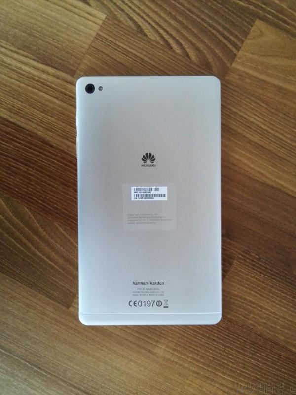 Huawei MediaPad M2 - Rückansicht