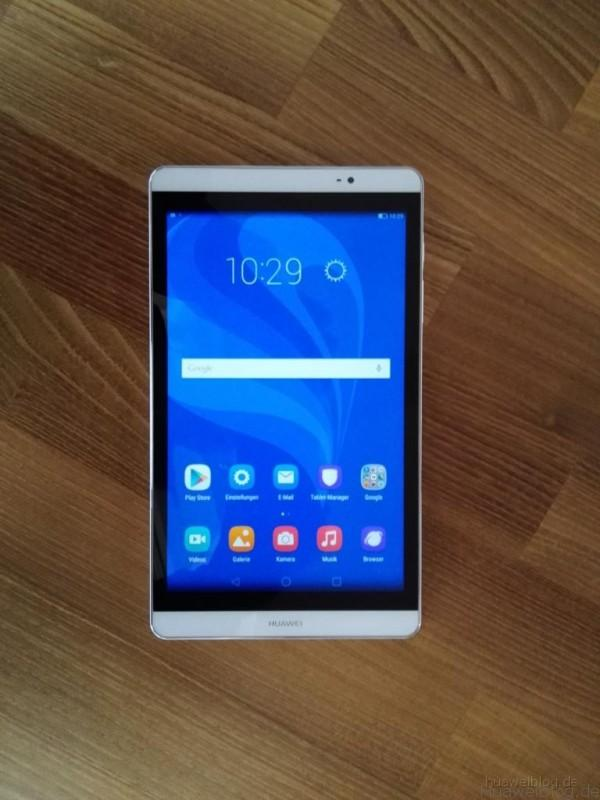 Huawei MediaPad M2 - Frontansicht
