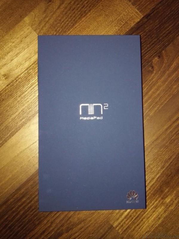 Mediapad M2 Verpackung