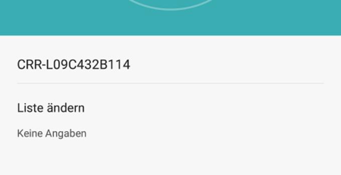 Huawei Mate S Firmware Update B114