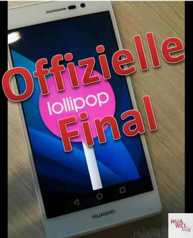 Huawei P7 Android 5.1.1 Lollipop Firmware Final