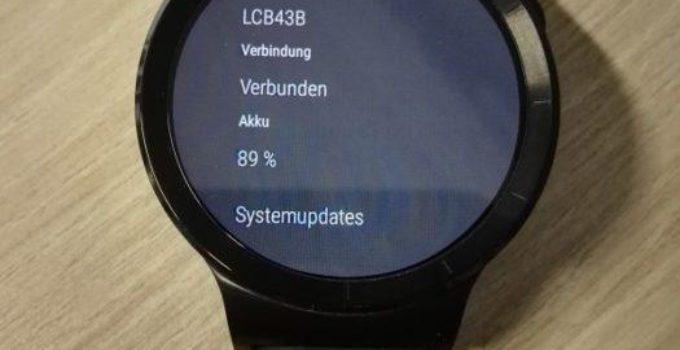 Huawei Watch Firmware Update LCB43B
