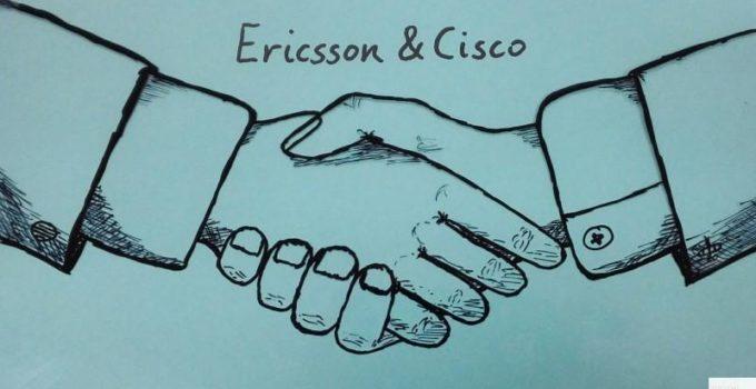Ericsson & Cisco handshake