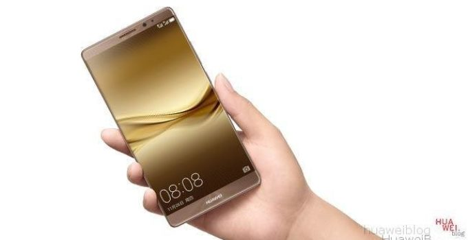 Mate 8 gold Front