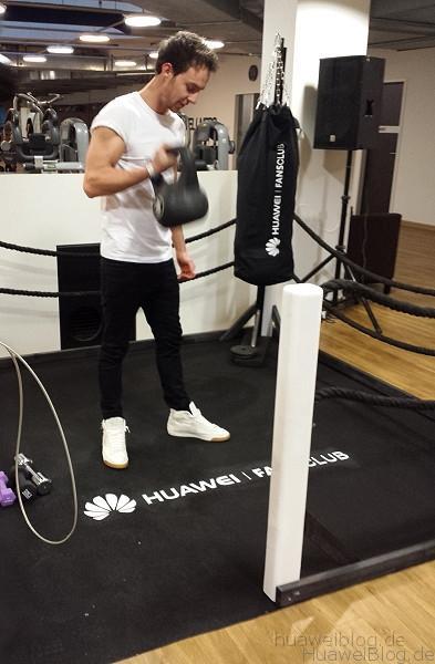 Huawei City Challenge - Fitness