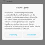 Huawei Mate 7 lokales Update Daten