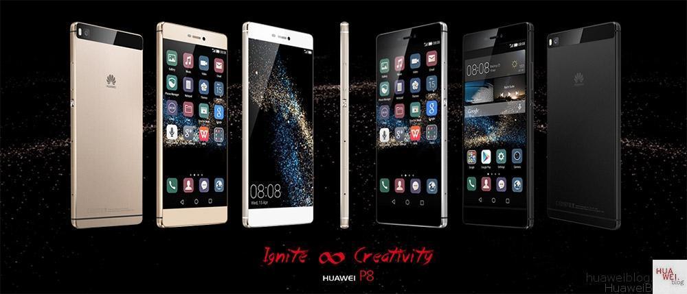 Huawei P8 Reihe