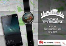 Update: Huawei City Challenge in Berlin