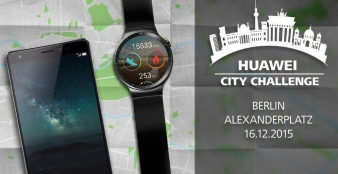 Huawei Watch City Challenge