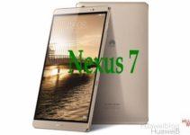 Huawei wird Nexus 7 auf der Google I/O 2016 vorstellen.