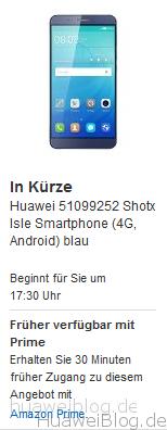 Amazon ShotX Blitzangebot