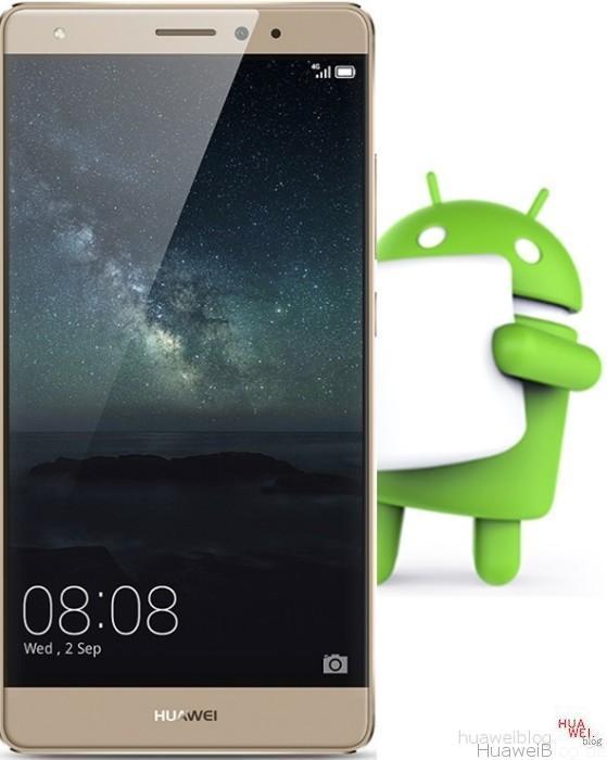 Huawei Mate S Marshmallow