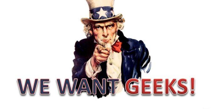 We want Geeks