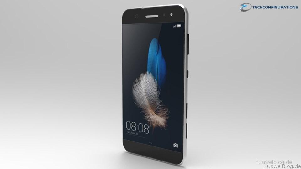 Huawei P9 Leak Render Bild