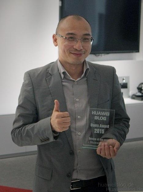 Huawei Users Award P8